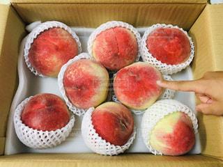 フルーツ,桃,箱入り,ピーチ