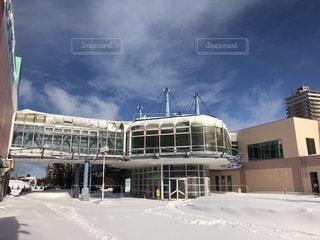 雪国のショッピングモールの写真・画像素材[1774907]