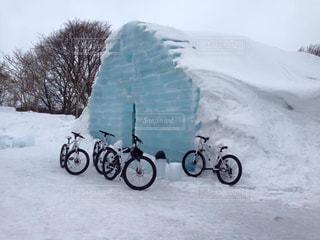 冬のオススメ観光地、石狩郡当別町の写真・画像素材[1792423]