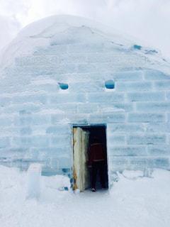 冬の旅のオススメはこの季節ならではの氷のホテル。の写真・画像素材[1806870]