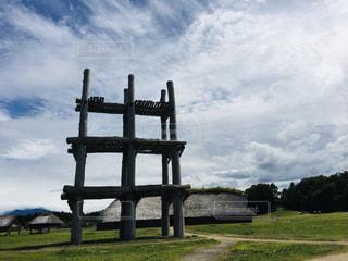 縄文の空の写真・画像素材[1862033]