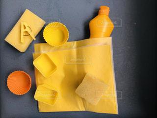キッチンにも黄色のものはいっぱいだ!の写真・画像素材[1866936]