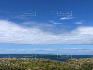 石狩浜。短い夏を楽しみます。の写真・画像素材[3544561]