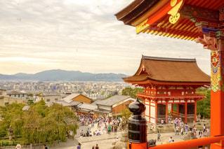 清水寺から見渡す京都の写真・画像素材[1690365]