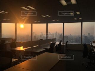 オフィスからの景色の写真・画像素材[1792402]