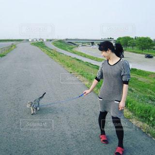 散歩の写真・画像素材[451367]