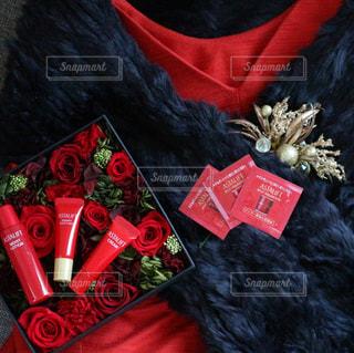 赤のドレスとアスタリフト - No.774066