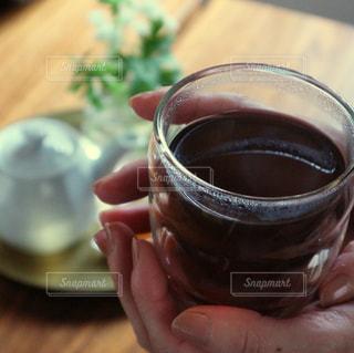 あったかほうじ茶の写真・画像素材[1053568]