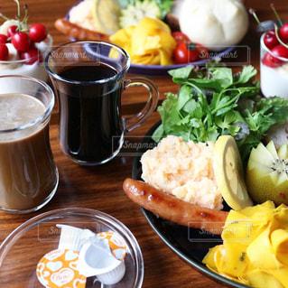 朝ごはんの写真・画像素材[1243779]