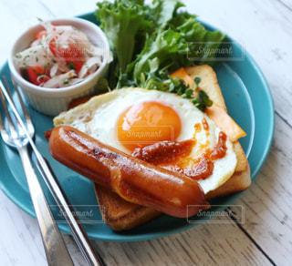 朝ごはん,ソーセージ,トーストアレンジ,ジョンソンヴィル
