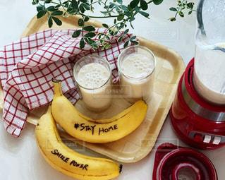 食べ物,朝食,ジュース,おいしい,ドリンク,バナナ,バナナジュース,ステイホーム,Stay home