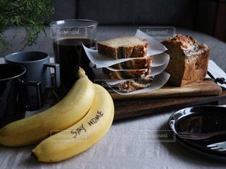 食べ物,ケーキ,おいしい,バナナ,手作りおやつ,バナナブレッド,ステイホーム,stay  home