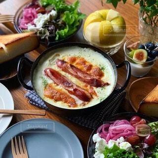 食べ物,食事,朝食,テーブル,料理,アンバサダー,ジョンソンヴィル,ホワイトグラタン