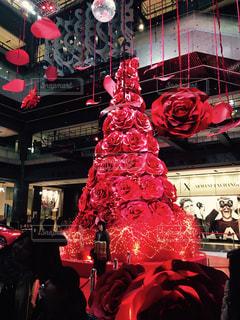 赤,バラ,クリスマス,ツリー,グランフロント,ベンツ