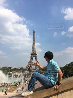 パリ,エッフェル塔,一人旅