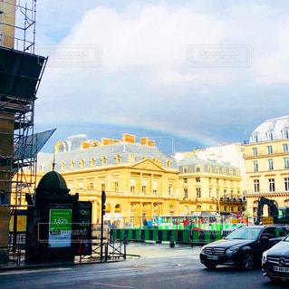 海外,虹,旅行,フランス,パリ,フォトジェニック