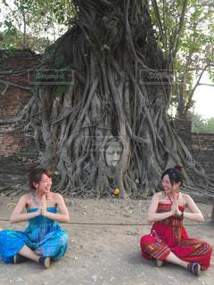 タイ女子旅の写真・画像素材[1817013]