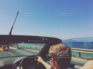 夏,屋外,海外,太陽,ビーチ,海岸,ドライブ,友達