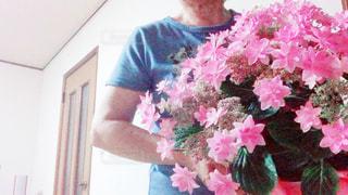女性,花,自撮り,ピンク,人物,シャッターリモコン,Bluetooth