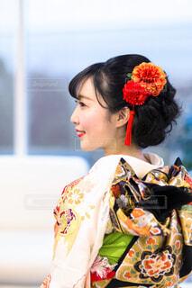 女性,着物,イベント,日本,和服,お祝い,晴れ着,新年,成人式,和装,行事,成人の日