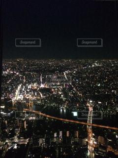 東京タワーからの夜景の写真・画像素材[1710719]