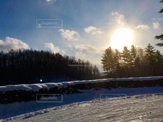 美しい雪景色の写真・画像素材[1757357]
