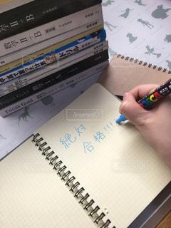 テーブルの上の勉強道具 数学の写真・画像素材[1701704]