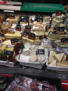 冬,スウェーデン,チーズ,買い物,スーパー