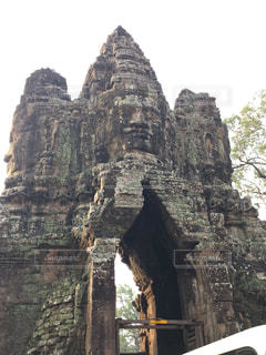 旅行,遺跡,昼,東南アジア,入り口,カンボジア,海外旅行
