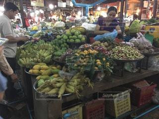 フルーツ,野菜,旅行,市場,買い物,カンボジア,海外旅行,バザール