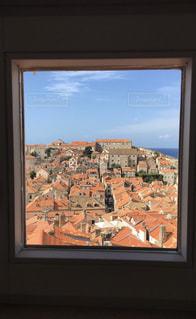 海,空,窓,世界遺産,旅行,海外旅行,クロアチア,休暇