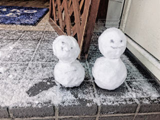 雪だるまの写真・画像素材[1732142]