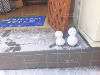 雪だるまの写真・画像素材[1732145]
