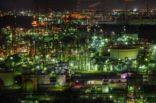 工場夜景の写真・画像素材[1703552]