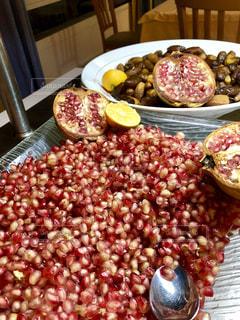 食べ物,食事,海外,赤,フルーツ,果物,旅行,ザクロ,つぶつぶ,ざくろ,フォトジェニック,チュニジア