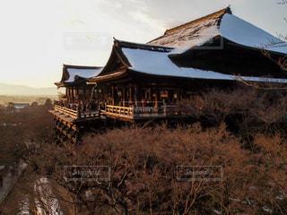 冬の清水寺の写真・画像素材[1778686]