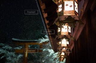 冬の下鴨神社の写真・画像素材[1778689]