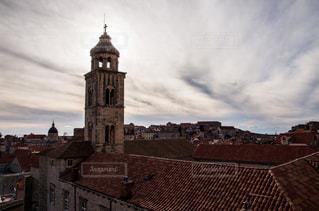 風景,建物,世界遺産,ヨーロッパ,観光,旅行,教会,海外旅行,クロアチア,日中,城壁,フォトジェニック,ドブロブニク,城壁都市