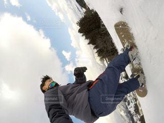 冬,スポーツ,雪,屋外,山,丘,人物,人,スノーボード,斜面,sport,snowboard