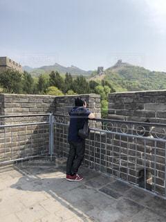 息子,万里の長城,最初で最後の2人旅