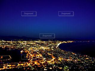 函館の100万ドルの夜景の写真・画像素材[1708143]