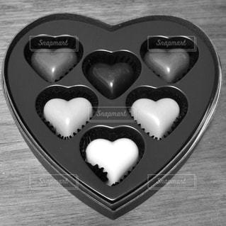 ハートのチョコレートの写真・画像素材[1793930]
