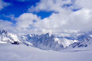 ドイツの雪山の写真・画像素材[1733612]