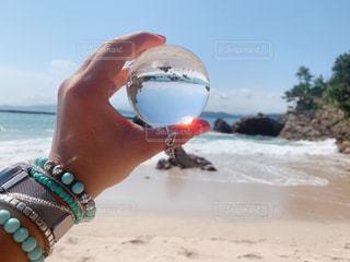 ガラス玉の写真・画像素材[2350673]
