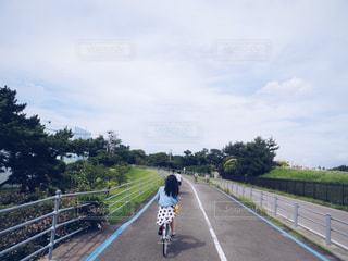 夏,自転車,サイクリング,福岡