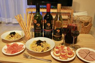 和食ともあうワインの写真・画像素材[4336588]