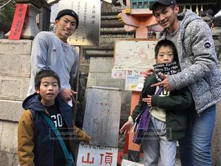 伏見稲荷山頂へ!!!!!の写真・画像素材[1706275]