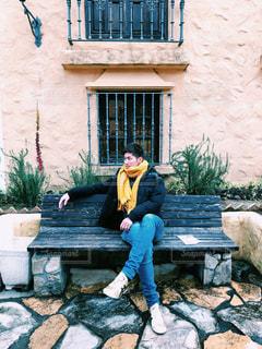 モデル気分になっちゃうほどの素敵な志摩地中海村の写真・画像素材[1749015]