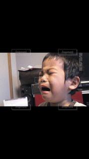 ギャン泣き3歳児の写真・画像素材[1788681]