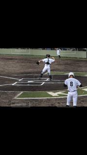 後姿,祈り,野球,背番号